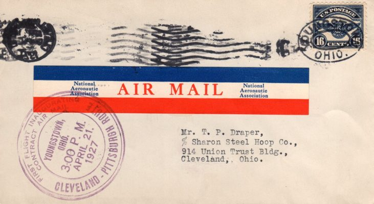 american air mail society founded 1923