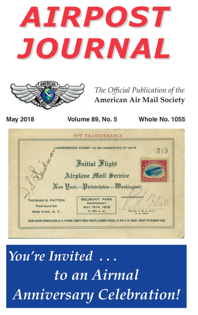 Airmail 100 Years – American Air Mail Society