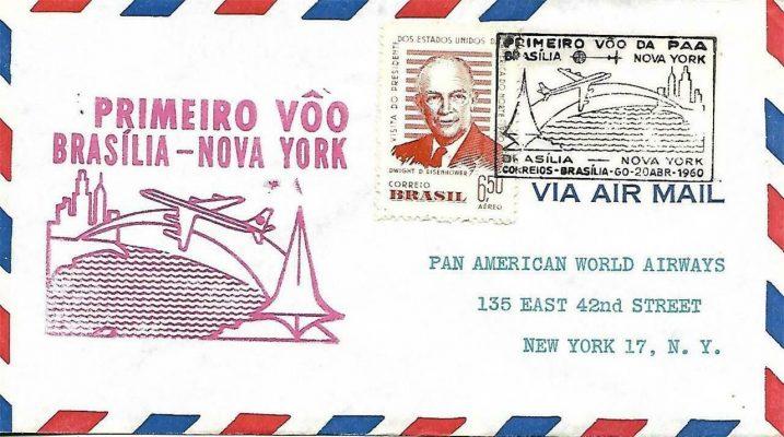Brazilia-NY 1960